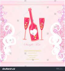 invitation cocktail party menu bar card stock vector 72375871