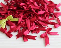satin ribbon bows ribbon bow etsy