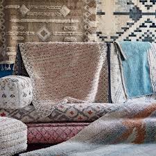marbled wool shag rug multi west elm au