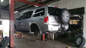 nissan armada rear interested in 2 inch lift with upgraded front and rear shocks
