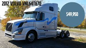 used volvo tractor trailers for sale wheeling truck center 2012 volvo vnl64t670 used truck for sale