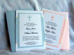 Example Of Baptismal Invitation Card Christening Invitation Template For Boys Or With Blue Or Red
