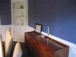 elegant small dining room decoration using blue dining room wall