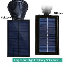 Solar Powered Address Light by Amazon Com Nekteck Solar Powered Garden Spotlight Outdoor Spot