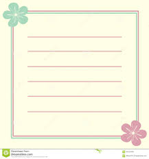 Invitation Card Background Invitation Card Frame With Cute Lovely Flowers Illustration