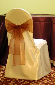 chair covers for weddings collection in ivory chair covers with ivory satin sash on white