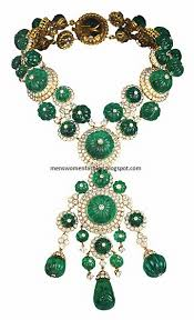emerald green fashion necklace images Emerald indian fashion 21k gold jewelry collection 55 fashion
