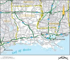 Louisiana travel photos images Map of central louisiana map gif