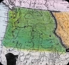 map of oregon country 1846 creation of washington territory 1853