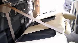 Dodge Ram Seat Upholstery Clazzio Seat Cover Install Ram Crew Cab Youtube