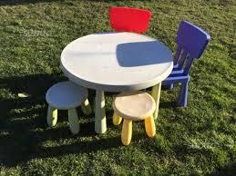 tavolo ikea mammut tavolo rotondo mammut ikea 2 sedie 2 sgabelli tutto per i