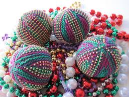 mardi gras beaded necklaces knitting for mardi gras taking time to smell the roses