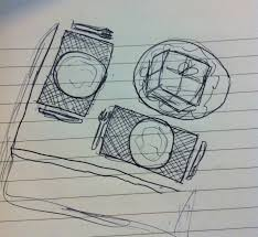 object shoot sketches and thoughts dan paul learning journal