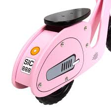 pink bentley charles bentley wooden vespa scooter wooden balance bike age 3