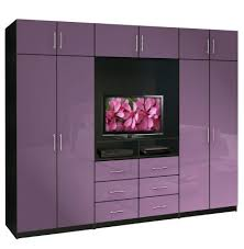 Aventa TV Wardrobe Wall Unit XTall Bedroom TV Furniture Plus - Bedroom furniture wall unit