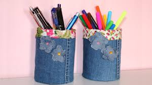 how to make your own pen holder pencil holder diy recycled