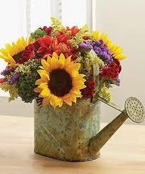 Sunflower Arrangements Ideas Best 20 Summer Flower Arrangements Ideas On Pinterest Home