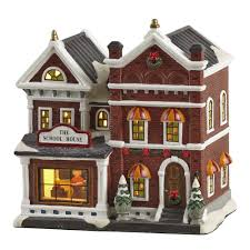 lighted holiday house christmas tree shops andthat