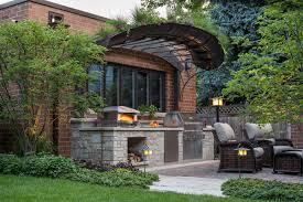 big backyard pizza oven design and ideas