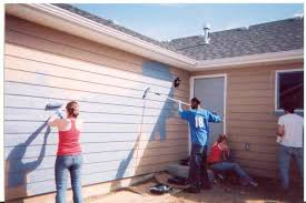 people painting house exterior painting services pinterest