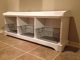 Mudroom Bench Plans Ana White My White Mudroom Bench Diy Projects