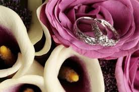 Flower Wedding Ring by Two Tone Flower Wedding Bands