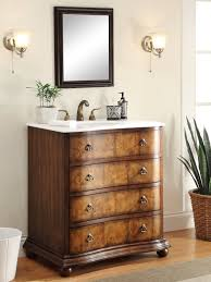 adelina 34 inch antique single sink bathroom vanity