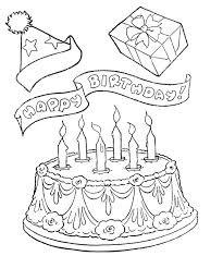 147 happy birthsday coloring images colouring