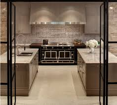 huge range and hood with 2 islands kitchens pinterest hoods