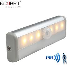 battery motion detector lights ecobrt free shipping smd3528 led ir infrared motion detector sensor