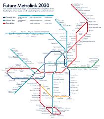 Stl Metrolink Map Image Gallery Metrolink Map 2030