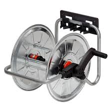 wall mounted garden hose reel 50m home outdoor decoration