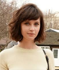 hairstyles that add volume at the crown short textured bob with bangs for fine hair hair world magazine