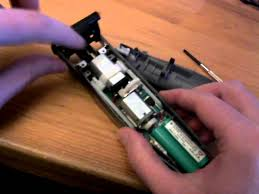 how to open disassemble a babyliss istubble beard trimmer youtube