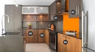 module armoire cuisine armoires cuisine aux standards élevés cuisines bernier