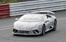 Lamborghini Huracan With Spoiler - introducing the 2017 lamborghini huracan superleggera carzi