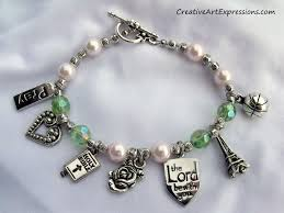 this charm bracelet was a gift for a niece description from
