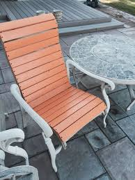 Patio Furniture Mesh Fabric Patio Chair Re Build 5 Steps With Pictures