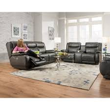 reclining sofa with 3 recliners by southern motion wolf and