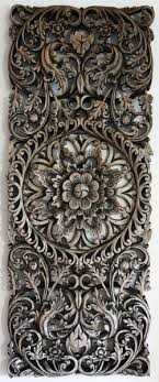 carved teak panel thailand ornaments
