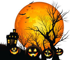 haunted house silhouette clipart clear background collection