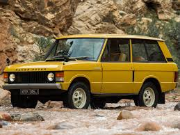 land rover yellow land rover range rover 1970 pictures information u0026 specs