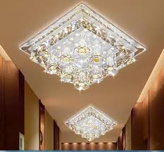 modern led ceiling l cool white 180mm 12w indoor light for home