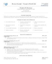 caregiver resume exles here are resume for caregiver caregiver resume in home caregiver