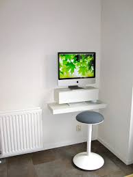imac wall mount office foxy modern imac computer desk design and decoration