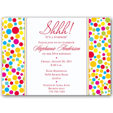 surprise birthday invitation wording badbrya com