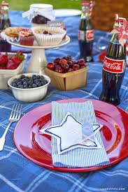 4th Of July Party Decorations Vintage Americana Fourth Of July Party