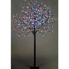led tree the 7ft multi colour led blossom tree
