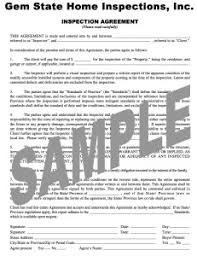 sample house inspection report sample report gem state home inspections