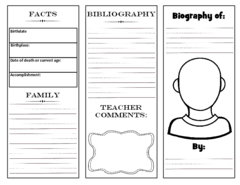 free biography graphic organizer 4th grade viewing 1 20 of 5914 results for biography notes graphic organizer